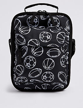 Kids' Sports Lunch Box with Thinsulate™, BLACK MIX, catlanding