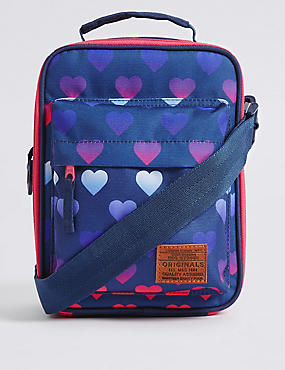Kids' Heart Print Lunch Box with Thinsulate™