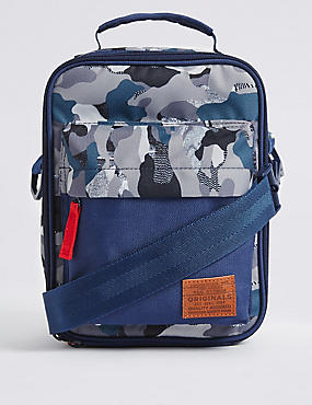 Kids Lunch Box with Thinsulate™, NAVY MIX, catlanding