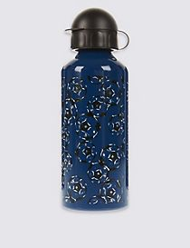 Kids' Football Print Water Bottle