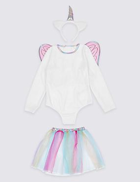 Kids' Unicorn Dress Up, WHITE MIX, catlanding