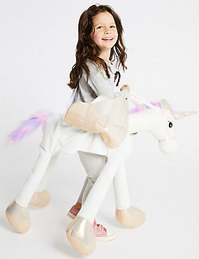 Kids' Unicorn Fancy Dress , IVORY MIX, catlanding