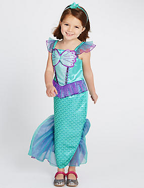 Kids' Mermaid Dress Up Costume