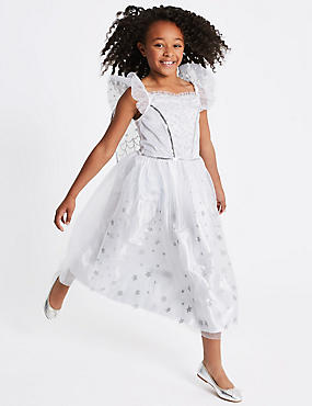 Kids' Sequin Angel Dress Up