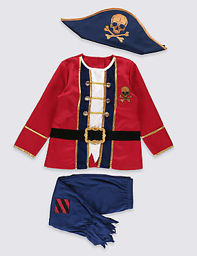 Kids' Pirate Boy Costume Dress Up (3-12 Years)