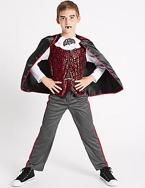 Kids' Vampire Fancy Dress Up