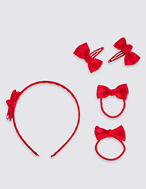 Kids' 3 Piece Bow Hair Set