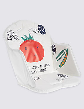 Tomato Highchair Cushion