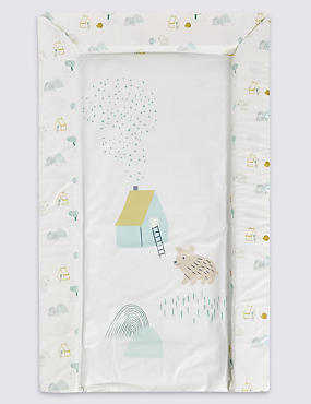 Bear House Changing Mat