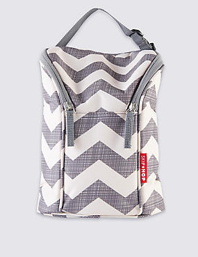 Chevron Double Bottle Bag