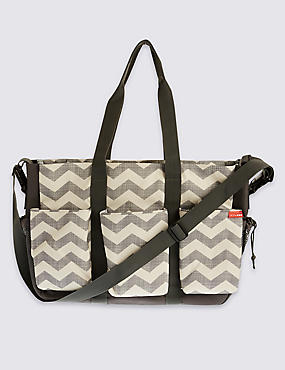 Duo Double Change Chevron Bag