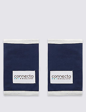 Connecta Teething Pads Navy