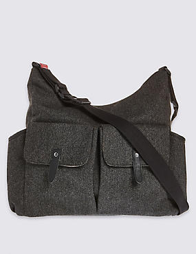 Tweed Frankie Change Bag