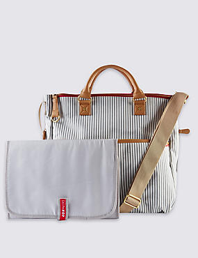 Deluxe Special Edition French Striped Travel Bag