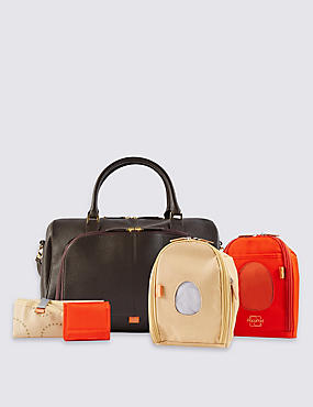 Firenze Leather Changing Bag
