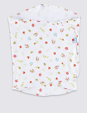 Apple of My Eye Swaddle