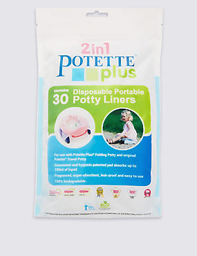 POTETTE PLUS® Disposable Liners (30Pk)