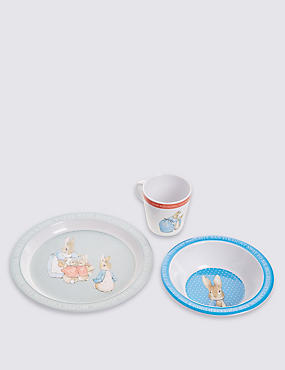 Peter Rabbit™ Melamine Tableware Set