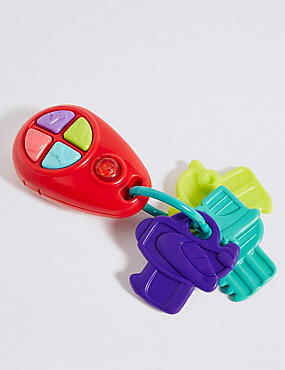 My First Electronic Teether Keys