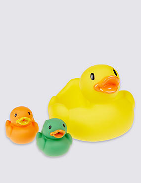 Duck Family Bath Squirter