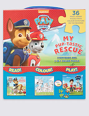 Paw Patrol Jigsaw Carry Book