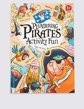 Plundering Pirates Activity Book