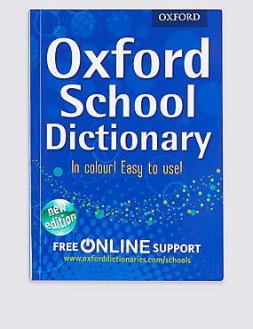 Oxford School Dictionary Book
