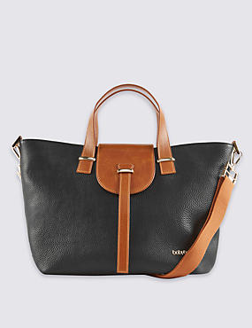 Leather Ellie Changing Bag