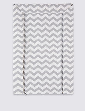 Chevron Changing Mat