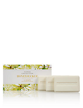 Honeysuckle Trio of Soaps