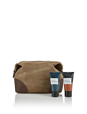 Whiskey & Woodsmoke Wash Bag, , catlanding
