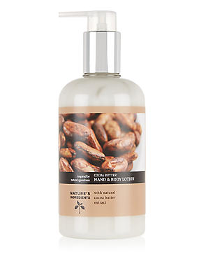 Cocoa Butter Hand & Body Lotion 300ml