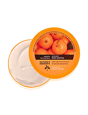 Mandarin Body Butter 200ml