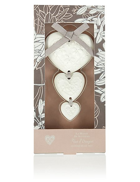 Scented Hanging Hearts Trio