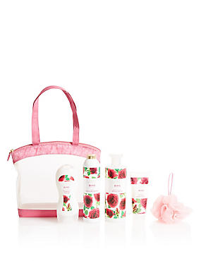 Rose Toiletry Bag, , catlanding