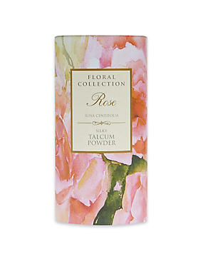 Travel Size Rose Talcum Powder 50g