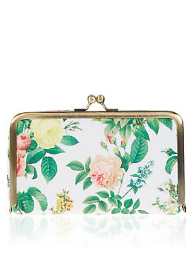Bloom Floral Cosmetic Purse