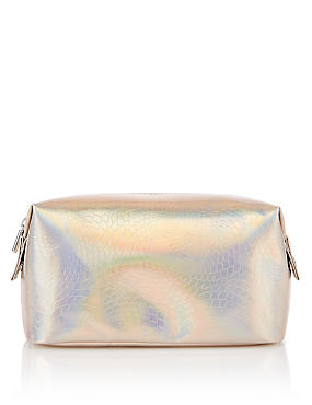 Holographic Design Make-Up Bag, , catlanding