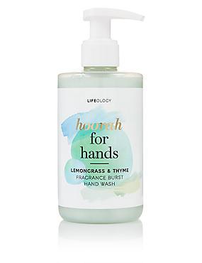 Lemon Grass & Thyme Fragranced Quick Dry Hand Wash 250ml, , catlanding
