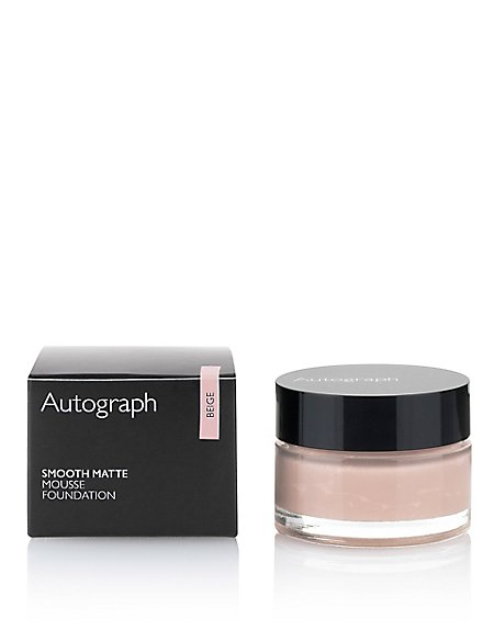 Smooth Matte Mousse Foundation 20ml