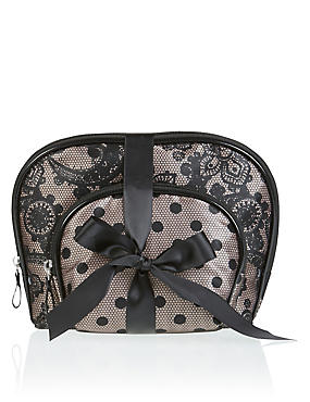 Dot Lace 2 Bag Set