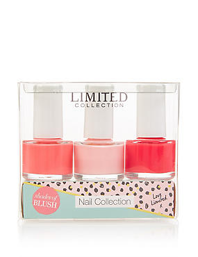 Nail Polish Trio Shades of Blush