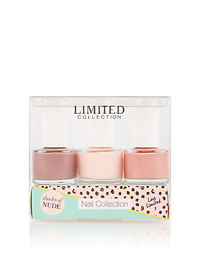 Nail Polish Trio- Shades of Blush
