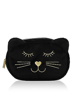 Animal Face Make Up Bag