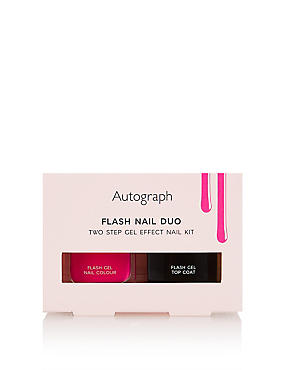 Flash Duo Two Step Gel Effect Nail Kit