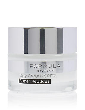 Biotech Day Cream Super Peptides SPF15 50 ml