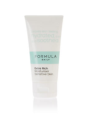 Extra Rich Moisturiser Sensitive Skin 50ml