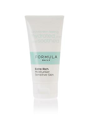 Extra Rich Moisturiser Sensitive Skin 50ml, , catlanding