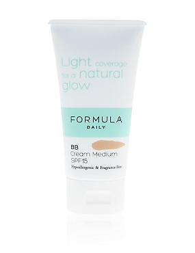 Sensitive BB Cream Medium SPF15 50ml, , catlanding