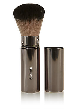 Retractable Blusher Brush, , catlanding